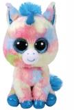 Jucarie plus 15 cm Beanie Boos BLITZ - blue unicorn TY