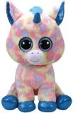 Jucarie plus 42 cm Beanie Boos BLITZ - blue unicorn TY