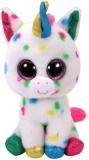 Jucarie plus 42 cm Beanie Boos HARMONIE - speckled unicorn TY
