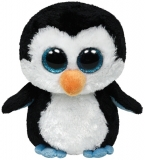 Jucarie Plus 24 cm Beanie Boos Waddles penguin TY