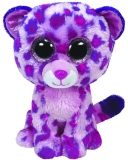 Jucarie Plus 24 cm Beanie Boos Glamour pink leopard TY