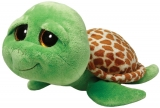 Jucarie Plus 24 cm Beanie Boos Zippy green turtle TY