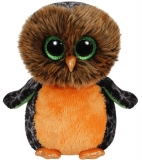 Jucarie Plus 25 cm Beanie Boos Midnight orange owl TY