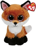 Jucarie Plus 24 cm Beanie Boos Slick Brown Fox TY