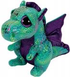 Jucarie Plus 24 cm Beanie Boos Cinder green dragon TY