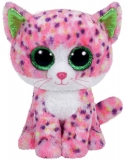 Jucarie Plus 24 cm Beanie Boos Sophie pink cat TY