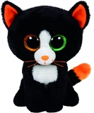 Jucarie Plus 24 cm Beanie Boos Frights black cat TY