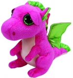 Jucarie Plus 24 cm Beanie Boos Darla Pink Dragon TY