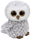 Jucarie plus 24 cm Beanie Boos OWLETTE - white owl TY