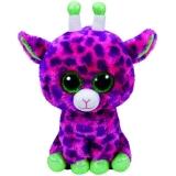 Jucarie Plus 24 cm Beanie Boos Gilbert Pink Giraffe TY