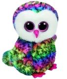 Jucarie Plus 24 cm Beanie Boos Owen Multicolor Owl TY