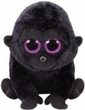 Jucarie plus 24 cm Beanie Boos GEORGE - black gorilla TY