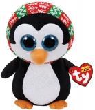 Jucarie plus 24 cm Beanie Boos PENELOPE - penguin TY