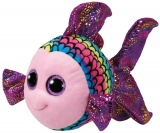 Jucarie plus 24 cm Beanie Boos FLIPPY - multicolor fish TY