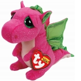 Jucarie Plus 15 cm Beanie Boos Darla Pink Dragon Red TY