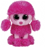 Jucarie Plus 15 cm Beanie Boos Patsy Pink Poodle TY
