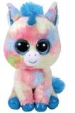 Jucarie plus 24 cm Beanie Boos BLITZ - blue unicorn TY