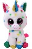Jucarie Plus 15 cm Beanie Boos Harmonie Speckled Unicorn TY