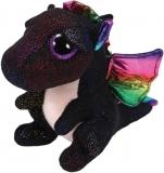 Jucarie plus 24 cm Beanie Boos ANORA - black dragon TY