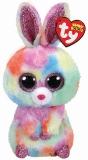 Jucarie plus 24 cm Beanie Boos Bloomy Pastel Bunny TY