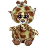 Jucarie plus 24 cm Beanie Boos Gertie long neck giraffe TY