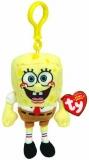 Jucarie Plus cu breloc 8.5 cm Beanie Babies Lic Spongerbobs