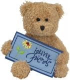Jucarie Plus 12 cm Beanie Babies Forever Friends Bear TY