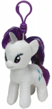 Jucarie Plus cu breloc 11 cm My little pony Lic Rarity TY