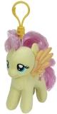 Jucarie Plus cu breloc 11 cm My little pony Lic Flluttershy TY