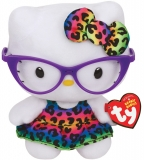 Jucarie Plus 15 cm Beanie Babies Lic Hello Kitty New Fashionista TY