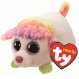 Jucarie plus 10 cm Teeny Tys FLORAL - multicolor poodle TY