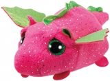 Jucarie plus 10 cm Teeny Tys DARBY - pink dragon TY