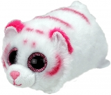 Jucarie plus 10 cm Teeny Tys Tabor pink-white tiger TY