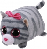 Jucarie plus 10 cm Teeny Tys CASSIE - grey cat TY