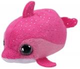 Jucarie plus 10 cm Teeny Tys FLOATER - pink dolphin TY