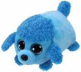 Jucarie plus 10 cm Teeny Tys LEXI - blue poodle TY
