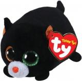 Jucarie plus 10 cm Teeny Tys TREAT - black cat TY