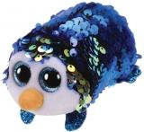 Jucarie plus 10 cm Teeny Tys Flippables Payton Blue Penguin TY