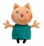 Jucarie Plus 15 cm Beanie Babies Lic Peppa Pig Candy Cat TY