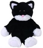 Jucarie Plus 24 cm Attic Treasures Bessie black/white Cat TY