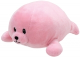 Jucarie plus 24 cm Baby Ty DOODLES - pink seal TY