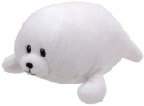 Jucarie plus 24 cm Baby Ty TINY - white seal TY