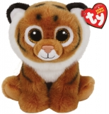 Jucarie plus 24 cm Beanie Babies TIGGS - brown tiger TY