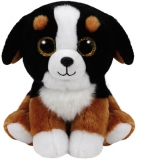 Jucarie plus 24 cm Beanie Babies ROSCOE - dog TY