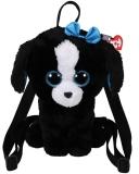 Ghiozdan plus 25 cm Ty Gear Tracey black/white dog Ty