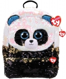 Ghiozdan plus 25 cm Ty Fashion Bamboo Panda TY