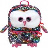 Ghiozdan plus 25 cm Ty Fashion Owen Owl TY