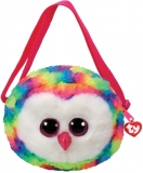 Geanta de umar plus 15 cm Ty Gear Owen multicolor owl TY