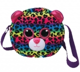 Geanta de umar plus 24 cm Ty Gear Dotty Multicolor Leopard TY