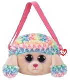 Geanta de umar plus 15 cm Ty Gear Rainbow  multicolor poodle TY